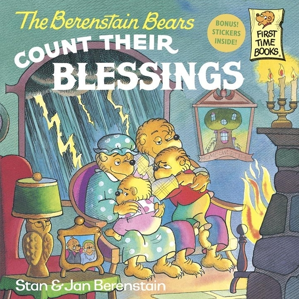 The Berenstain Bears - Count Their Blessings (英文版)