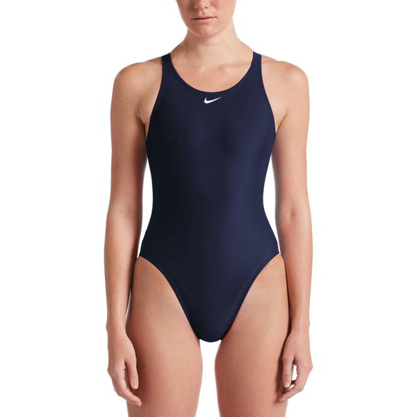 NIKE SWIM Fast Back成人女性連身泳裝 -(藍)