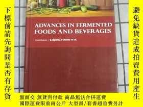 二手書博民逛書店Spano罕見Russo Advances in Fermented Foods and Beverages 進口