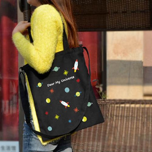 手提包 帆布包 手提袋 環保購物袋【DEB005478】 BOBI  08/18