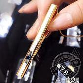 UGO韓國代購職業正裝領夾韓版領帶夾男士商務高檔禮盒裝 造物空間