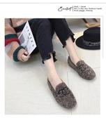 豆豆鞋 羊羔毛豆豆鞋女 正韓百搭加絨刷毛刷毛毛毛鞋女鞋子 鉅惠85折