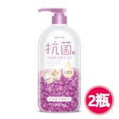 【快潔適】親膚抗菌沐浴乳1000ml-白麝香 2入組白麝香*2