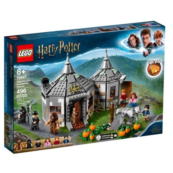 LEGO 樂高 哈利波特系列 Hagrid's Hut: Buckbeak's Rescue 75947