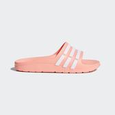 Adidas Duramo Slide K [CP9384] 童鞋 運動 涼鞋 拖鞋 休閒 舒適 輕量 愛迪達 粉橘
