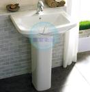 【麗室衛浴】美國 KOHLER  Panache 系列 K-17654T-0 面盆+長腳柱