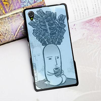 [ 機殼喵喵 ] SONY Xperia T3 M50w D5103 手機殼 客製化 照片 外殼 全彩工藝 SZ167 青長大根