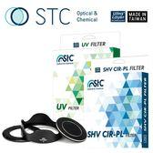 【STC】轉接環快拆遮光罩組 for SONY RX100 M1~M5相機〈UV+CPL 套組〉