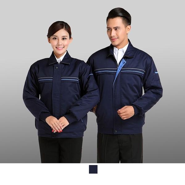 晶輝專業團體制服CH185*加厚多功能大衣冬装棉服可拆加厚超保暖連帽外套志工修車廠,電子業