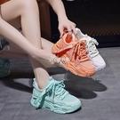運動鞋2020夏秋新款鞋子女學生韓版百搭小白鞋透氣ins超火老爹鞋