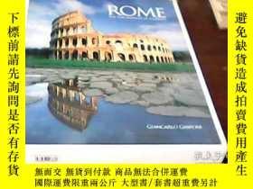 二手書博民逛書店英文畫冊ROME-THE罕見FASCINATION OF ETE