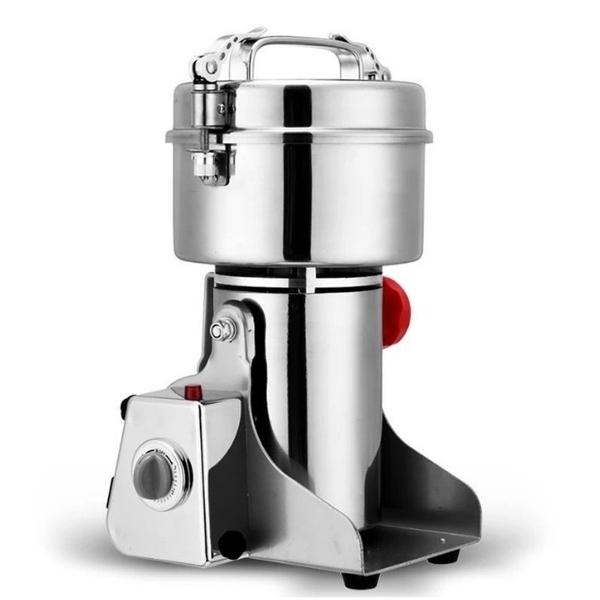 【台灣現貨】研磨機(YMJ-802)打粉機 粉碎機 搖擺式研磨機 304不鏽鋼中藥材打粉機 800gigo