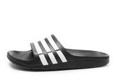 Adidas Duramo Slide [G15890]  男女 運動 涼鞋 拖鞋 休閒 舒適 輕量 黑 白 愛迪達