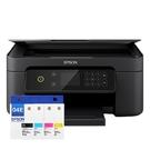 【搭T04E原廠墨水匣一黑三彩】EPSON XP4101 三合一自動雙面列印複合機