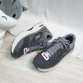 Skechers MAX CUSHIONING ARCH FIT 男慢跑鞋 220198CHAR 灰【iSport】