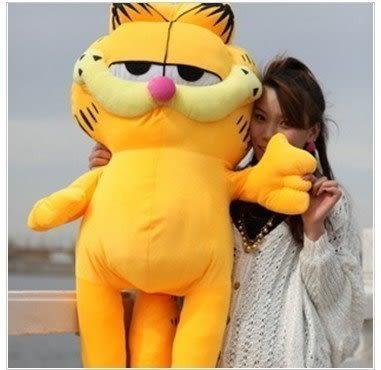 加菲貓毛絨玩具抱枕120公分【藍星居家】