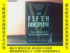 二手書博民逛書店THE罕見FIFTH DISCIPLINE:THE ART &