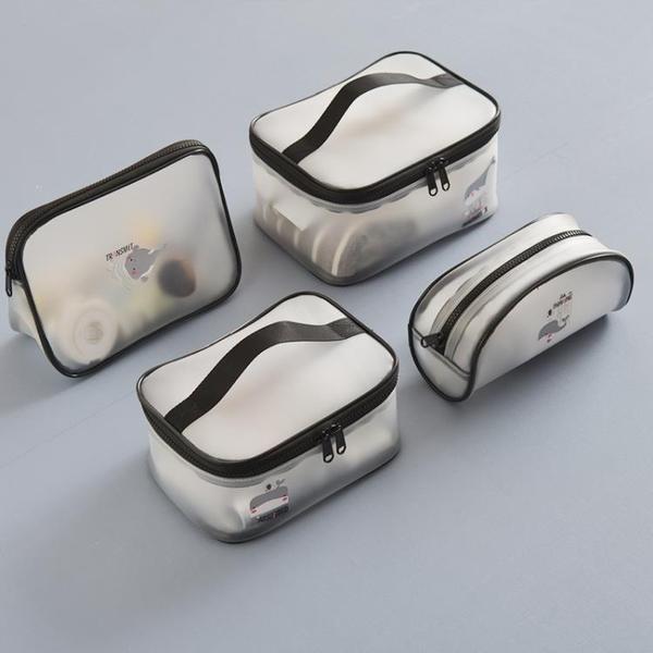 化妝包大容量透明化妝包旅行便攜防水網紅收納包洗漱包女小化妝品袋 新品