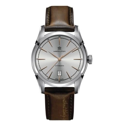 HAMILTON 漢米爾頓/AMERICAN CLASSIC復古獨特機械腕錶/H42415551