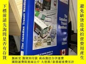 二手書博民逛書店The罕見Canadian Transit Handbook(T