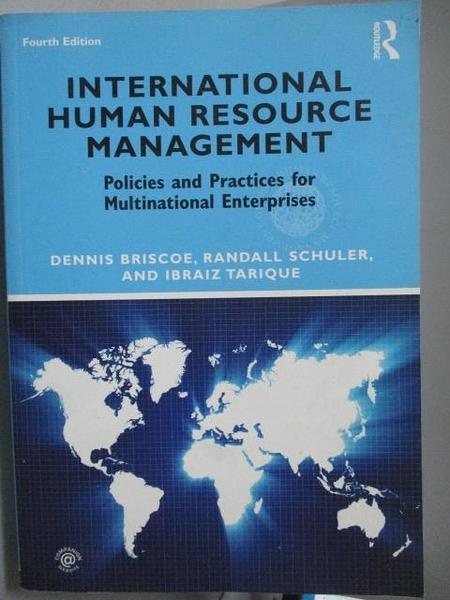 【書寶二手書T2/大學商學_ZEK】International Human Resource Management_4/