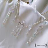 瓔珞項圈 仙氣涼亭子古典串珠流蘇漢服配飾 - 雙十一熱銷