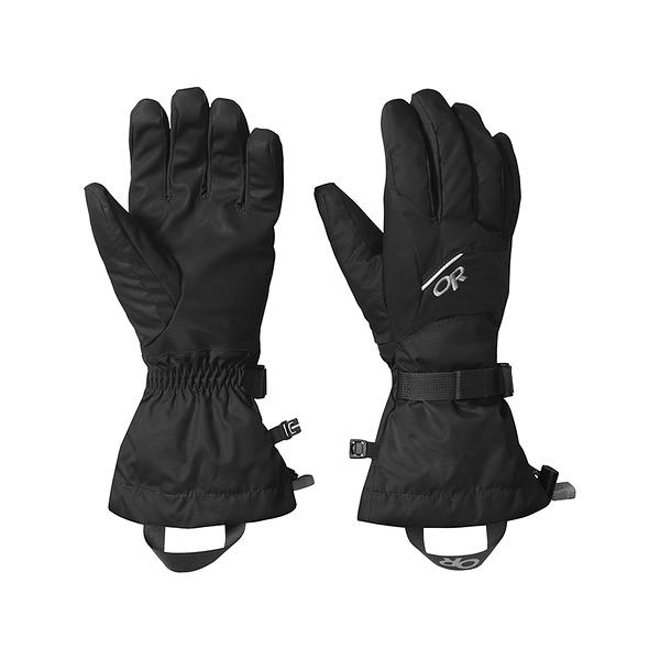 OR Adrenaline Gloves 防水防風透氣保暖手套 黑