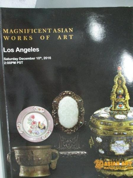 【書寶二手書T5/收藏_YAJ】Los Angeles_2016/12/10_Magnificent Asian Wor