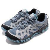 Merrell 戶外鞋 All Out Blaze Aero Sport 水陸運動鞋 越野 登山 灰 藍 休閒鞋 女鞋【PUMP306】 ML65032