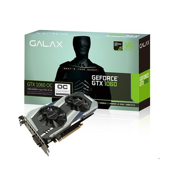 [哈GAME族]免運費 可刷卡●新一代GP106核心●影馳 GALAX GTX1060 OC 3GB DDR5 192Bit 顯示卡