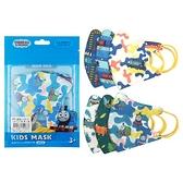 JAPLINK 湯瑪士 幼童拋棄式3um防護口罩6入(一包6款x1片)【小三美日】
