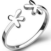 925純銀戒指-生日情人節禮物花朵造型簡約迷人流行女飾品73ae97[巴黎精品]