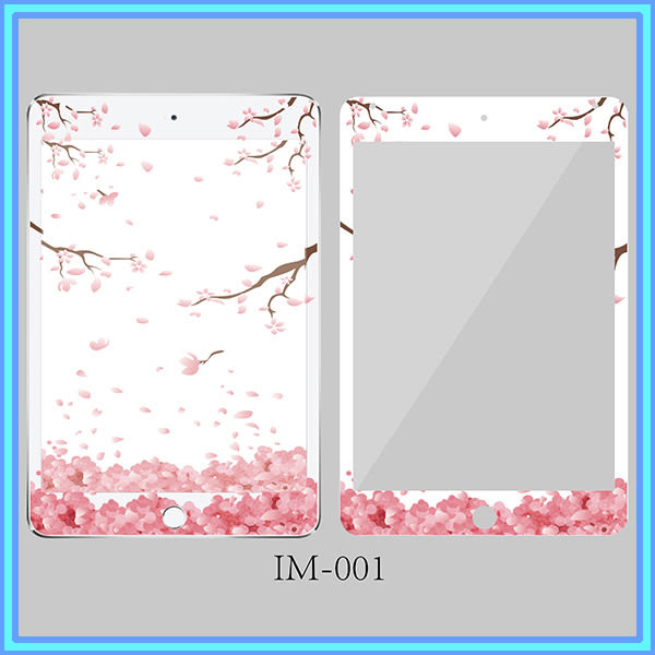 鋼化玻璃彩膜 浮雕膜 ipad 2/3/4 貼膜卡通系列 鋼化膜 防爆 平板 保護貼膜