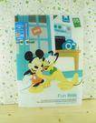【震撼精品百貨】Micky Mouse_米奇/米妮 ~A5掀開文件夾-下午茶
