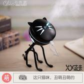卡通可愛貓咪加濕器桌面空氣迷你小靜音家用抖音熱門生日禮物「Chic七色堇」