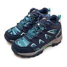 LIKA夢 GOODYEAR 固特異專業多功能郊山防水戶外越野鞋 戰術靴系列 迷彩藍 12506 女