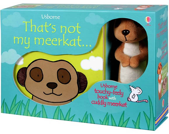 That's Not My Meerkat...Book And Cuddly Meerkat 那不是我的貓鼬禮盒組