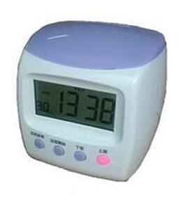 ♥DASAN DS-3000四欄卡鐘-紫色 (贈卡架+卡片) 同優美卡鐘卡片 四欄位微電腦打卡鐘
