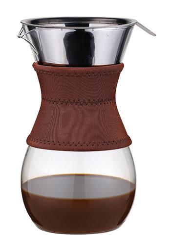 【美國代購】Osaka Pour錐形免濾紙手沖咖啡杯 大容量一次可沖泡6杯