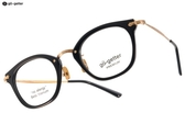Go-Getter 光學眼鏡 GO5004 C01 (黑-金) 韓系時尚潮流款 # 金橘眼鏡