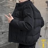 棉衣男士秋冬季外套潮流加厚保暖羽絨棉服工裝棉襖【雲木雜貨】
