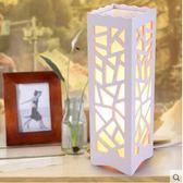 歐式創意燈具LED節能書房台燈 簡約嬰兒喂奶可調光臥室床頭小夜燈   LannaS