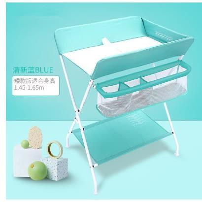 尿布折疊儲物防水換收納可歐式功能收納臺嬰兒護理多種按摩寶寶