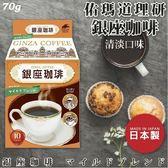 日本【佑瑪道理研】銀座咖啡 清淡口味