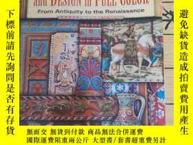 二手書博民逛書店HISTORIC罕見ORNAMENT and DESIGN in FULL COLORY12345 Giuli