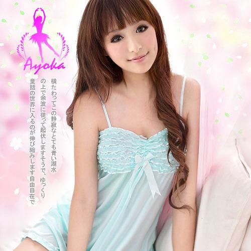 性感睡衣 層層愛意!浪漫心情二件式睡襯衣 愛的蔓延 07050034