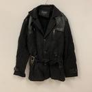 內刷毛修身顯瘦休閒大衣外套(3XL號/121-4787)