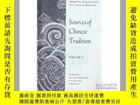 二手書博民逛書店Sources罕見of Chinese Tradition, V