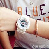 潮牌韓版簡約潮流ulzzang手錶男女學生時尚電子表 數字式運動防水 igo電購3C