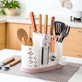筷子架防塵廚房餐具收納盒筷子籠帶蓋瀝水勺子筷子筒家用筷籠筷筒筷子桶 台北日光